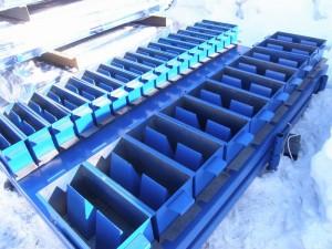 Формы для производства газобетонных блоков