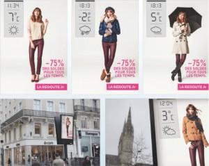 Реклама La Redoute