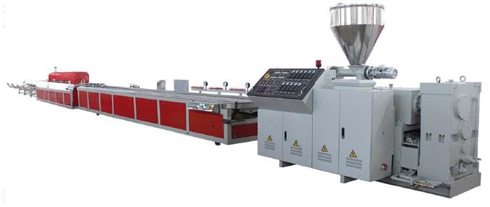Экструзионная линия - оборудование для производства ПВХ профиля