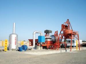 Мобильный асфальтобетонный мини завод