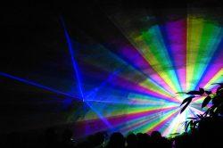 Организация лазерных шоу