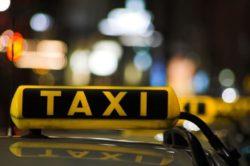 Открытие службы такси