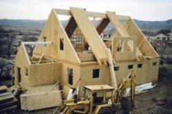 Производство каркасных домов (каркасно-панельных (щитовых))