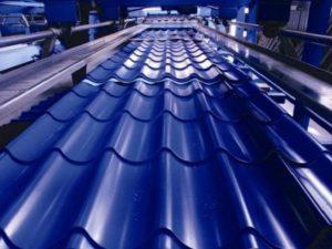 Производство металлочерепицы и профнастила