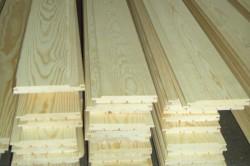 Производство вагонки из дерева