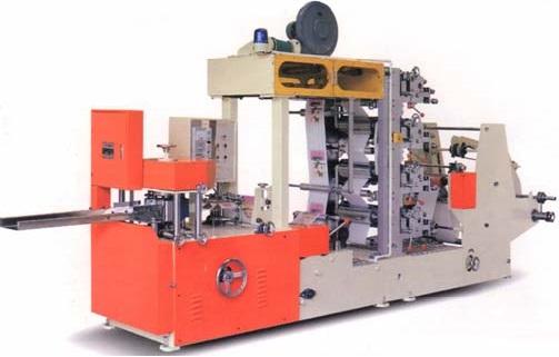 Автоматический станок для производства столовых салфеток СН-13 (14)