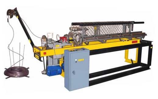 Станок автомат для производства сетки рабицы - оборудование