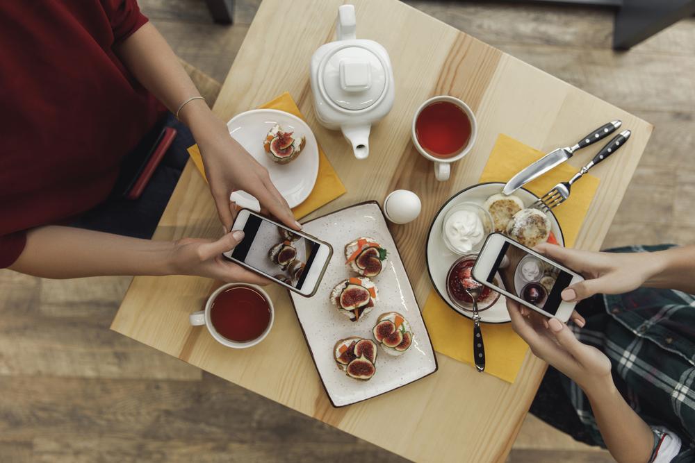 Пример меню кафе здорового питания