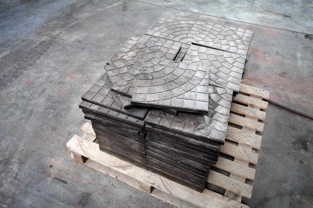 Ассортимент изготовления тротуарной плитки